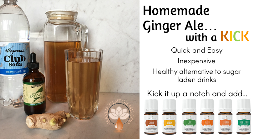 Homemade Ginger Ale with a KICK!