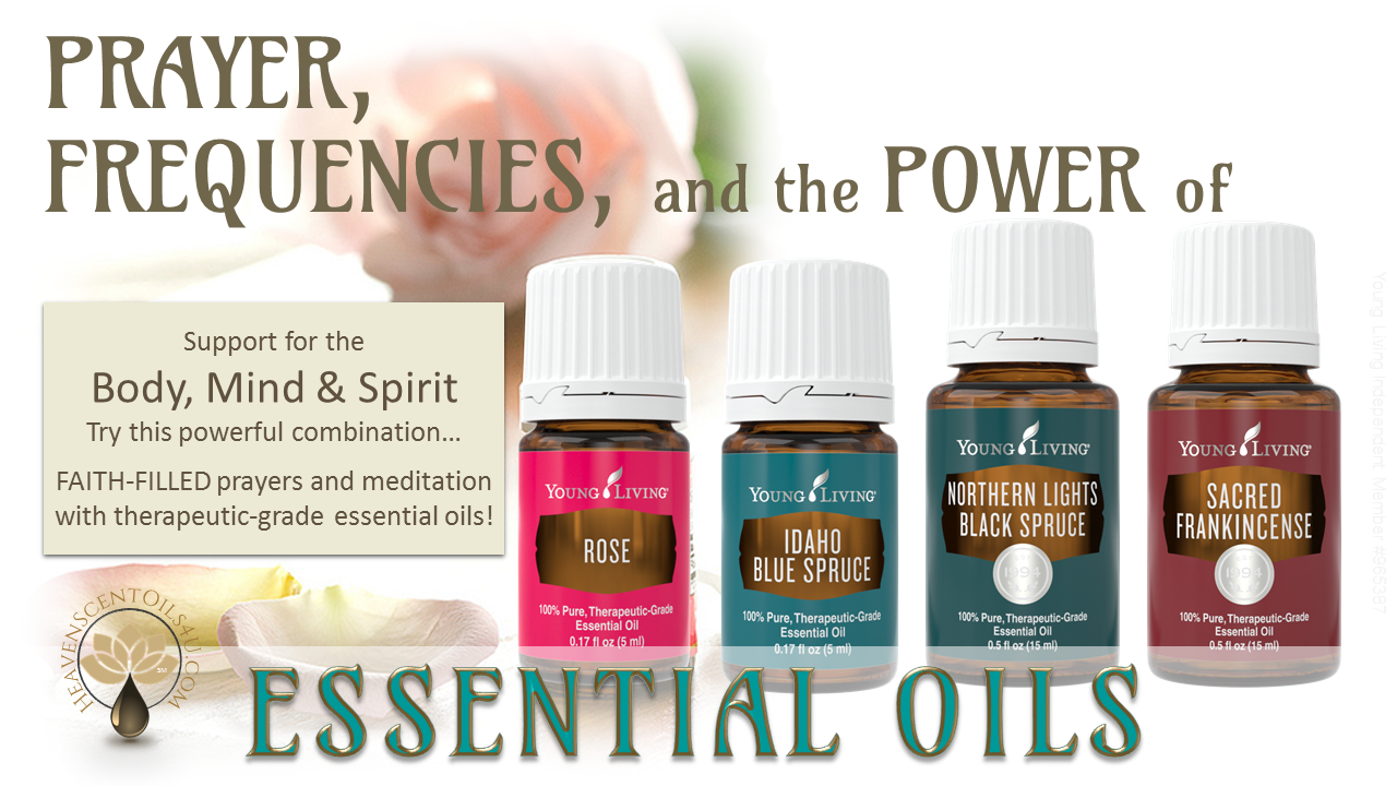 how to use essential oils to increase frequency