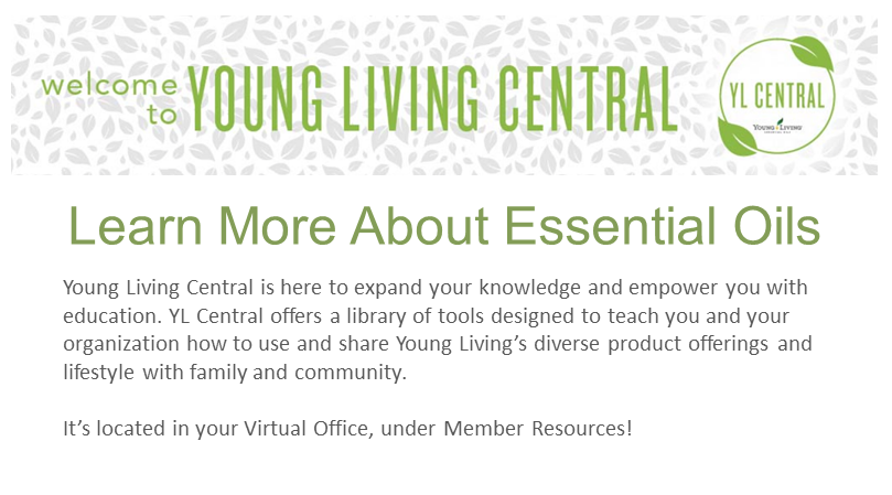 Welcome To Young Living Central